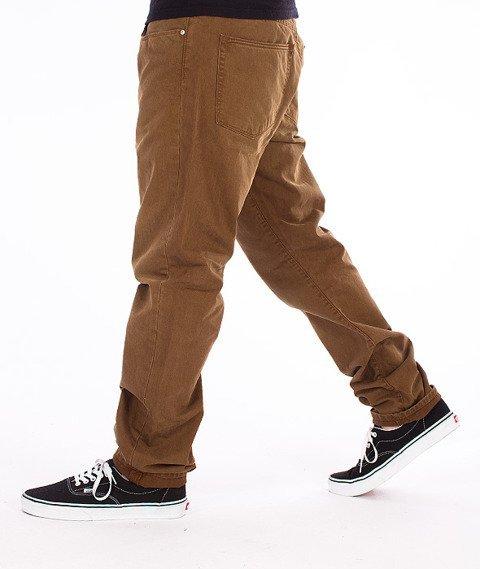 Carhartt-Vicious Pants Spodnie Pecan Vintage Washed L32