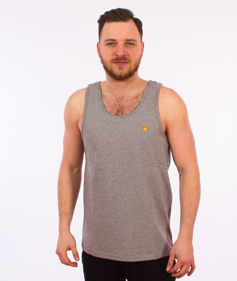 Carhartt WIP-Chase Tank Top Grey Heather