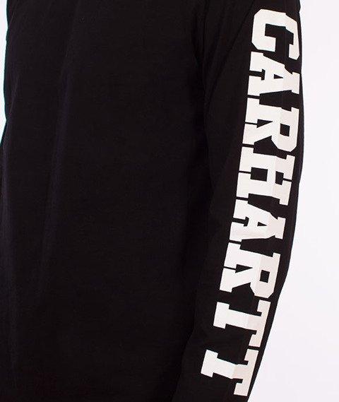 Carhartt WIP-College Left Longsleeve Black/White
