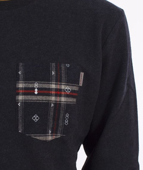 Carhartt WIP-Eaton Pocket Bluza Navy Heather/Carlo Check