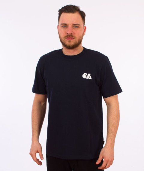 Carhartt WIP-Military Training T-Shirt Navy