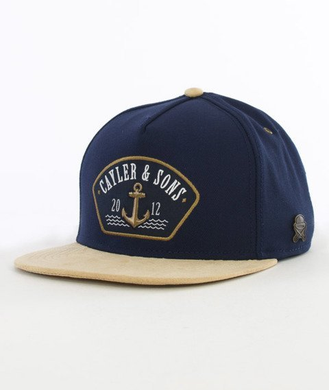 Cayler & Sons-Ahoi Cap Snapback Navy/Gold/White