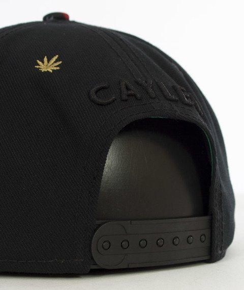 Cayler & Sons-Amstredam Cap Snapback Black/Concrete Roses/Red