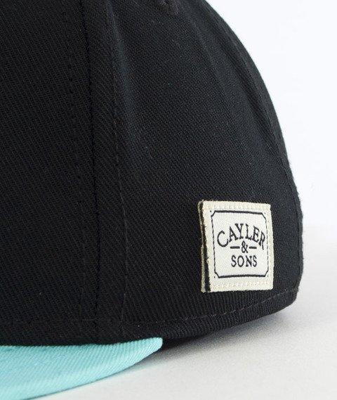 Cayler & Sons-BKNY Cap Snapback Black/Mint/Grey