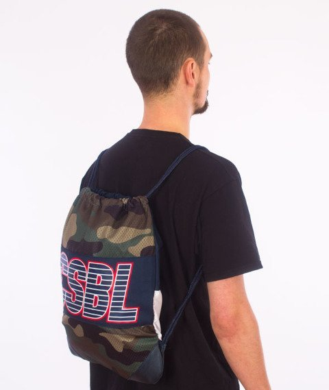 Cayler & Sons-BL Bucktown Gym Bag Camo/Black