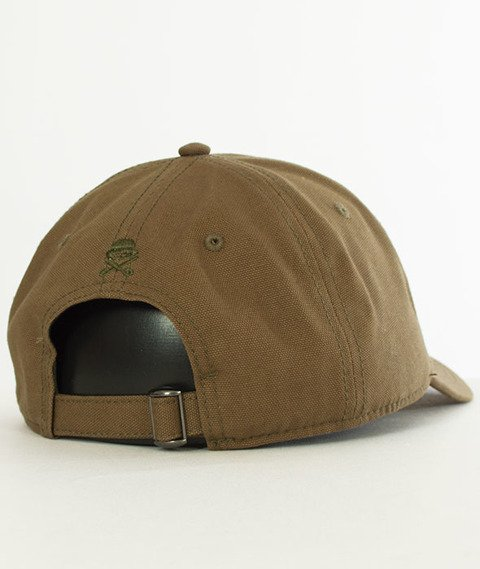 Cayler & Sons-CL Rosewood Curved Snapback Olive/Mc