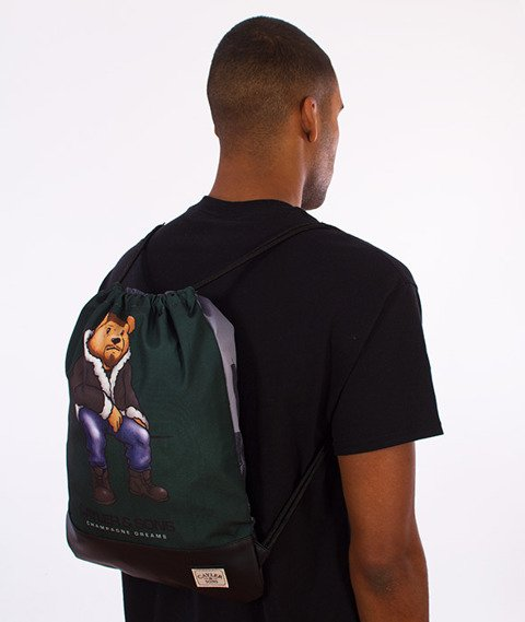 Cayler & Sons-Chmpgn Drms Gym Bag Forest Green/Black