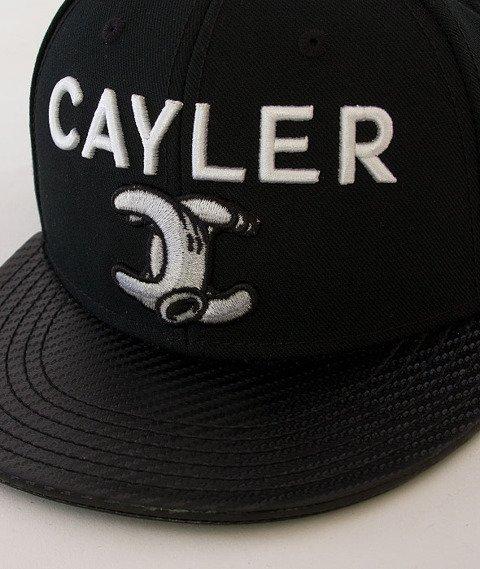 Cayler & Sons-No.1 Cap Black/White/Carbon