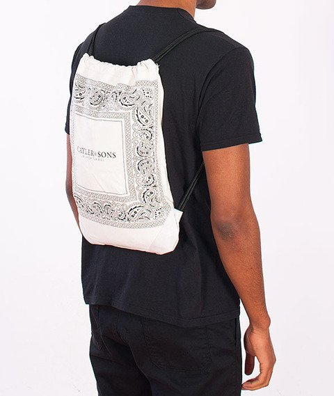 Cayler & Sons-Paiz Gym Bag White/Black