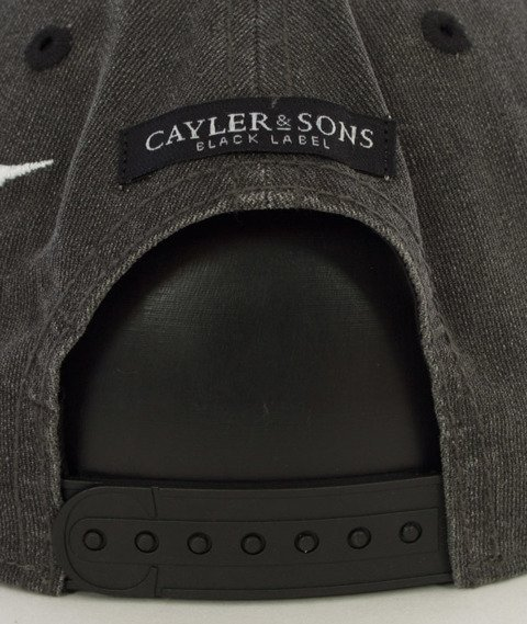 Cayler & Sons-Rebel Cap Snapback Vintage Black/Woodland/White