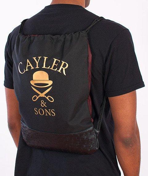 Cayler & Sons-Sticky Icky Gym Bag Black/Mahagony/Multicolor