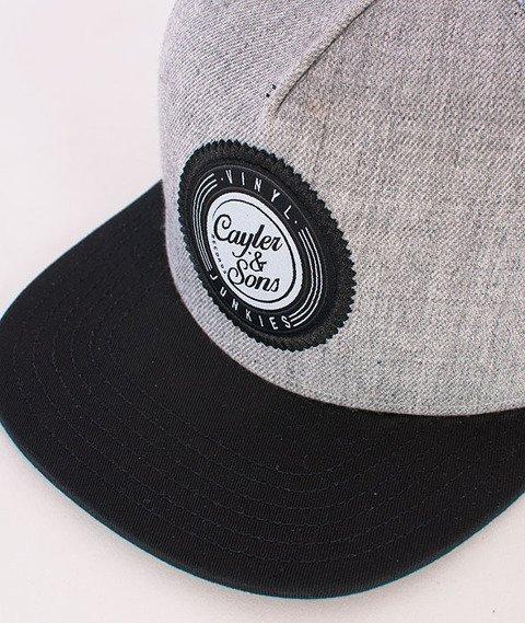 Cayler & Sons-Vinyl Cap Grey/Black