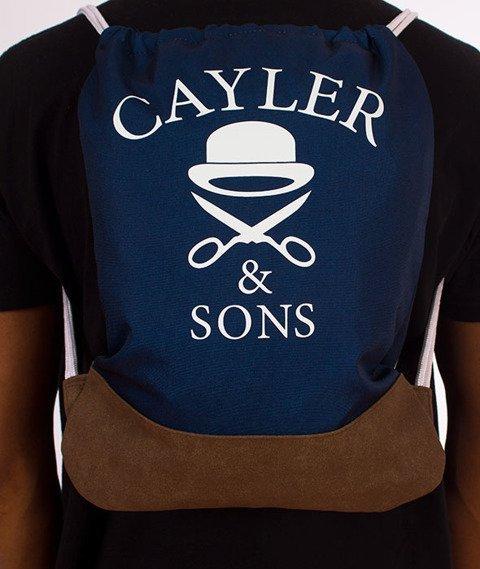 Cayler & Sons-WL Biggenstein Gym Bag Navy/Brown