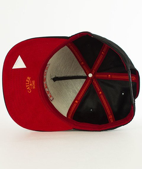Cayler & Sons-WL Drop Out Snapback Black/Red