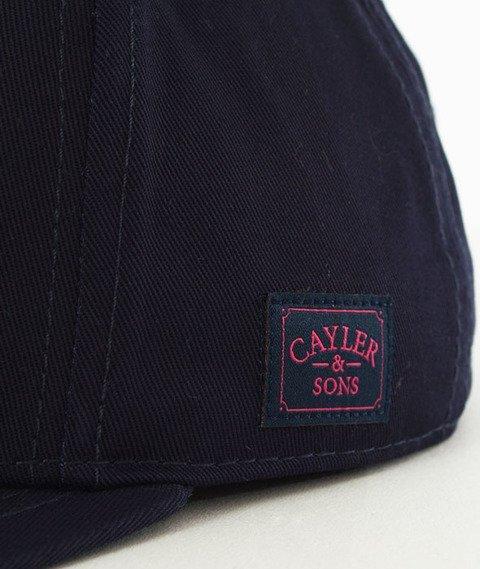 Cayler & Sons-WL Pret a Smoke Snapback Navy