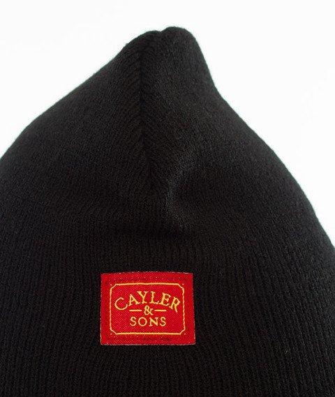 Cayler & Sons-WL Propaganda Old School Beanie Black