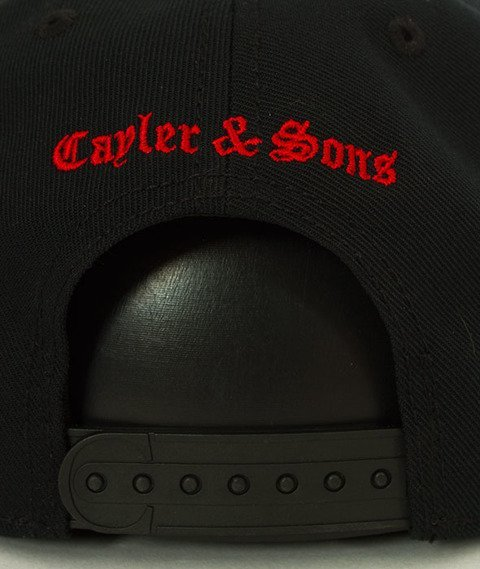 Cayler & Sons-WL Thorns Snapback Black/Red