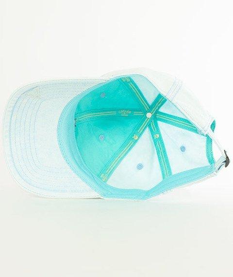 Cayler & Sons-WL Vibin' Curved Snapback Light Blue/Black