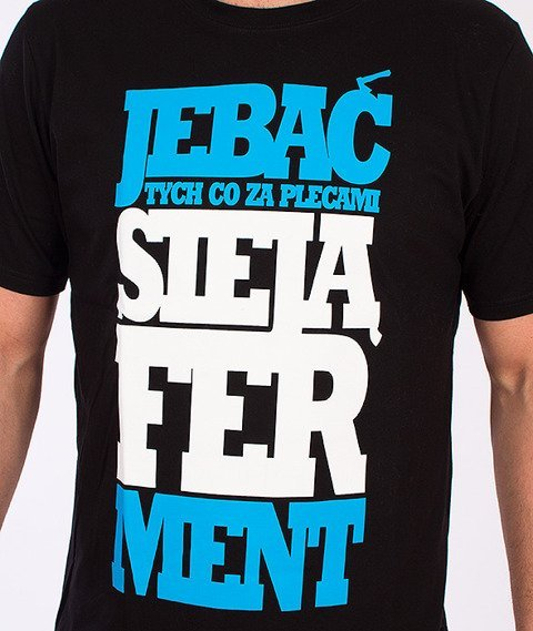 Chada-Ferment T-Shirt Czarny