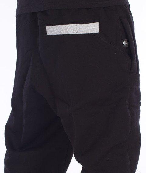 Chada-Scrap Spodnie Dresowe Czarne