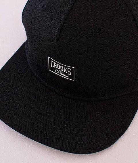 Crooks & Castles-Core Logo Snapback Black