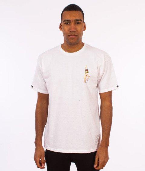 Crooks & Castles-Get Paid T-Shirt Biały