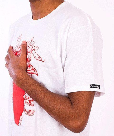 Crooks & Castles-Gorgon Medusa T-Shirt White