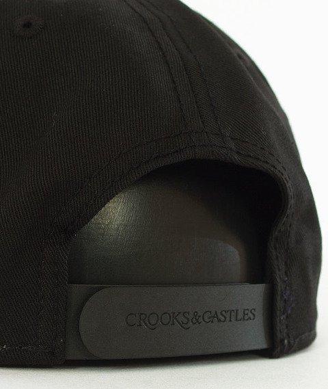 Crooks & Castles-Hybrid C Snapback Czarny
