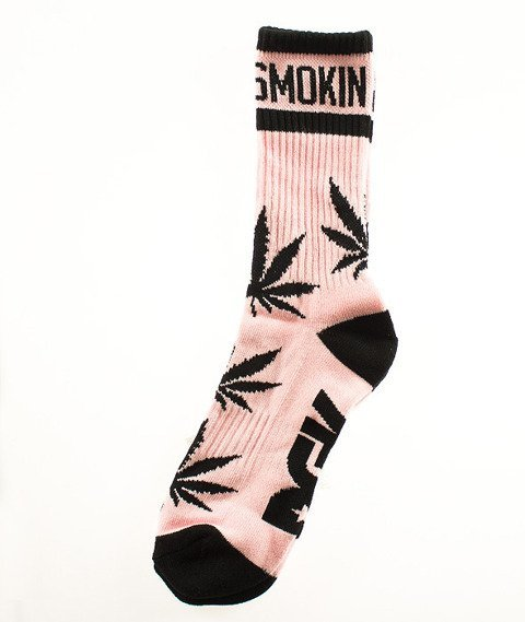 DGK-Stay Smokin' Crew Skarpetki Różowe/Czarne