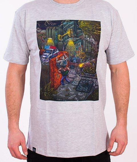 DIIL-Diil World T-shirt Szary