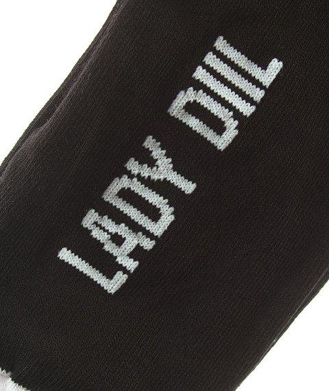 DIIL-LD Skarpetki Krótkie Czarne/Białe