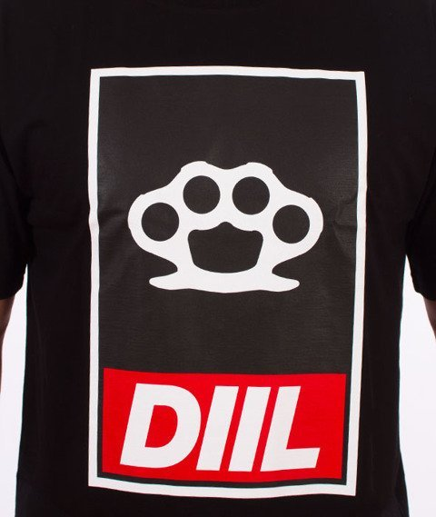 DIIL-Obej Kastet T-Shirt Czarny