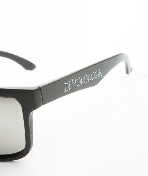 Demonologia-Logo Okulary Przeciwsłoneczne Czarne