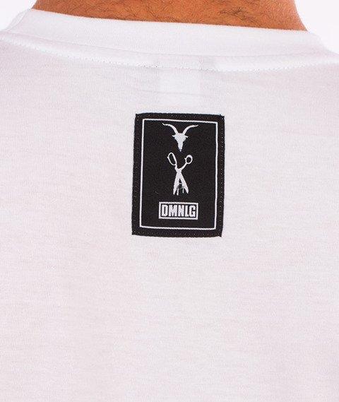 Demonologia-Skull Snakes T-Shirt Biały
