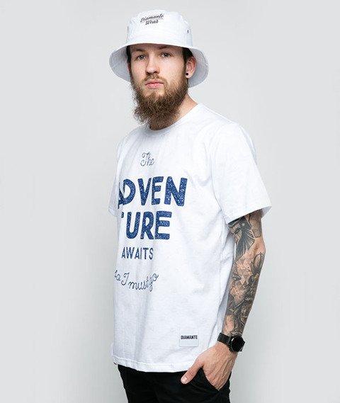 Diamante-Adventure Awaits T-Shirt Biały