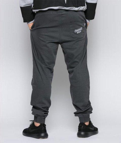 Diamante-Classic Jogger Pants Spodnie Szare