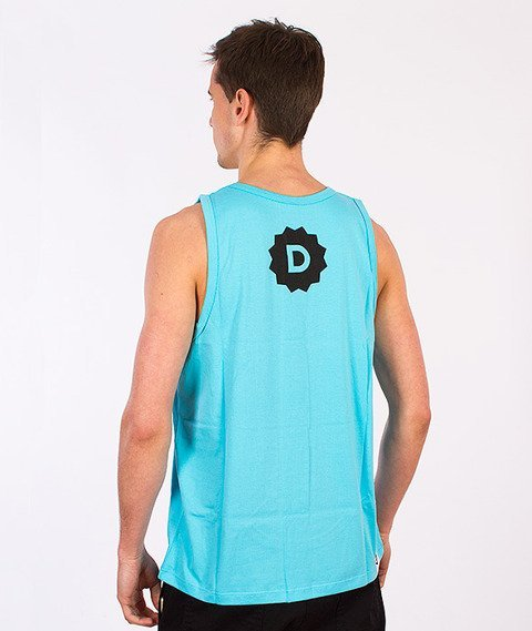 Diamante-High Standarts Tank Top Błękitny