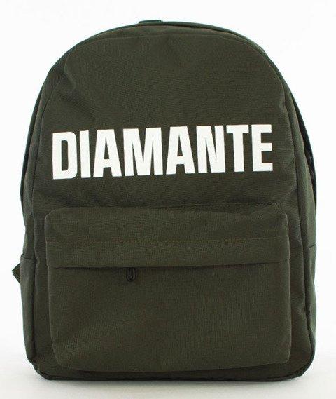 Diamante-LOGO Plecak Oliwkowy