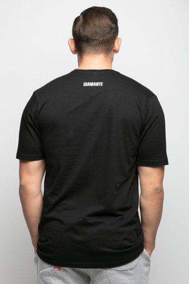Diamante-WYJ384NE T-Shirt Czarny