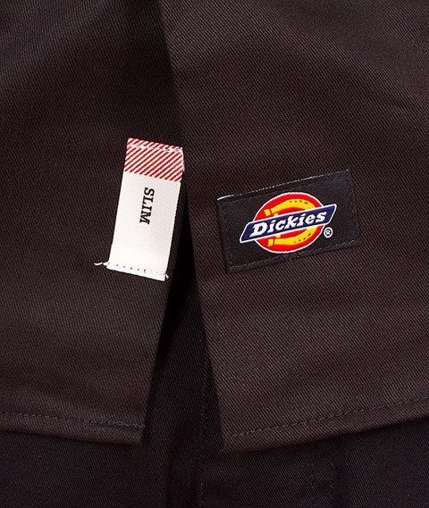 Dickies-576 Slim Shirt Black
