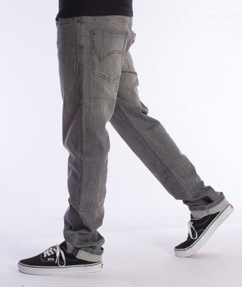 Dickies-Louisiana Spodnie Jeans Bleached Grey