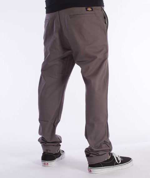 Dickies-WP803 Slim Skinny Pant Spodnie Gravel Grey