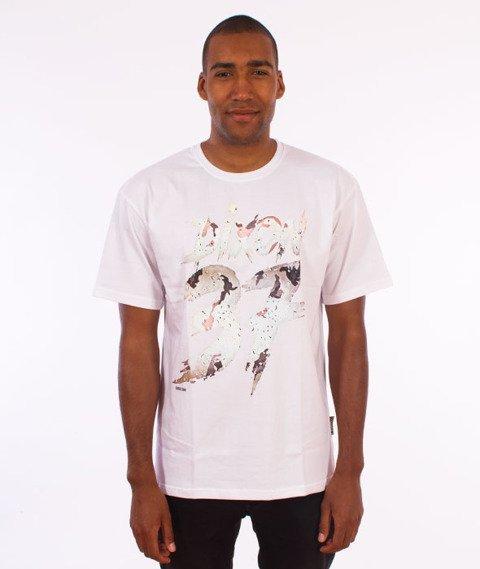 Dixon37-DIX Desert T-Shirt Biały