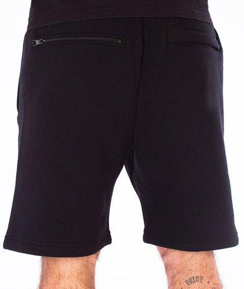 Dixon37-Gradient Spodnie Krótkie Dresowe Czarne
