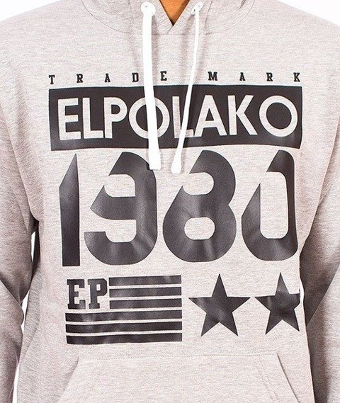 El Polako-1980 Kaptur Grafit/Multikolor