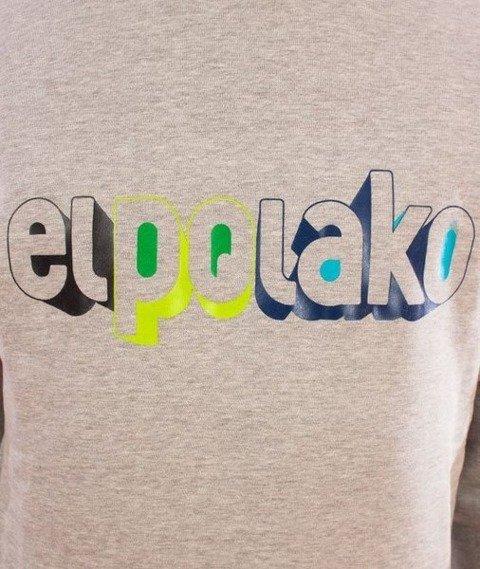 El Polako-3D Bluza Szara
