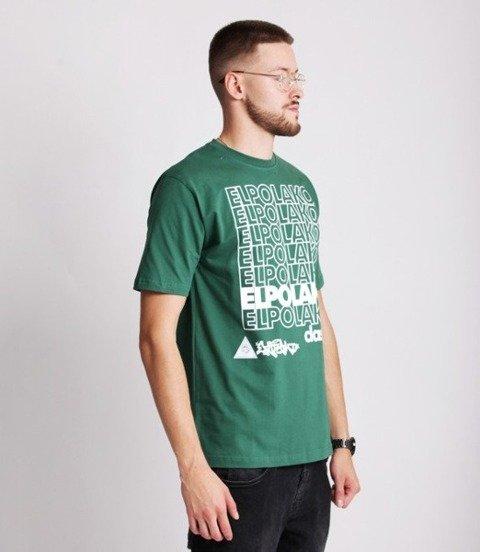 El Polako 7xELPO T-Shirt Zielony