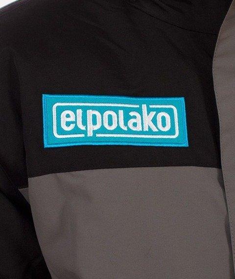 El Polako-Alaska Flyers Kurtka Czarna/Szara