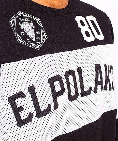 El Polako-Belt Bluza Czarna