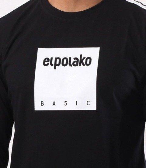 El Polako-Box Style Longsleeve Czarny